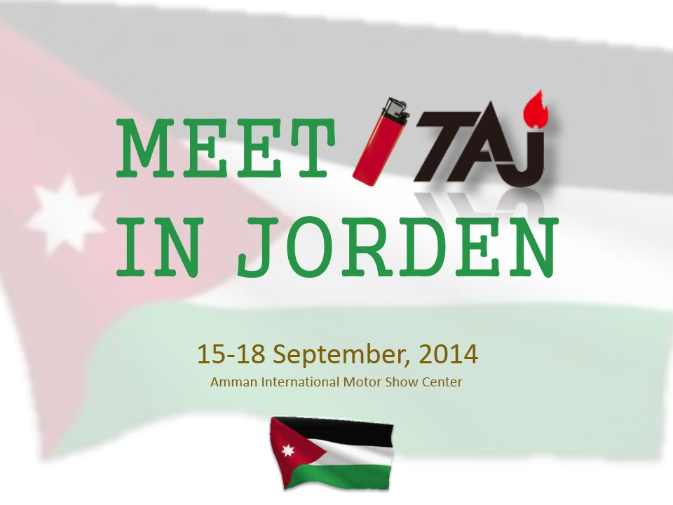 TAJ will attend the 11th China Fair Jordan 2014